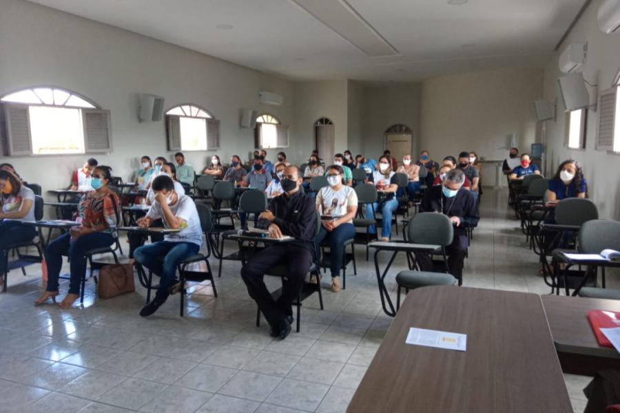 Reunião extraordinária dos coordenadores paroquiais de catequese