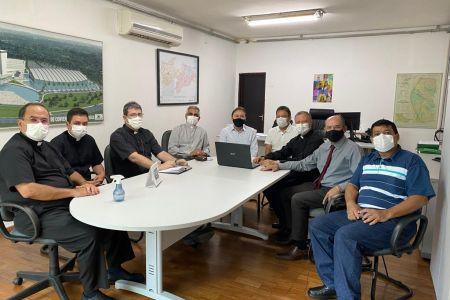Representantes da Diocese de Guarabira reúnem-se com Secretário Estadual de Infraestrutura